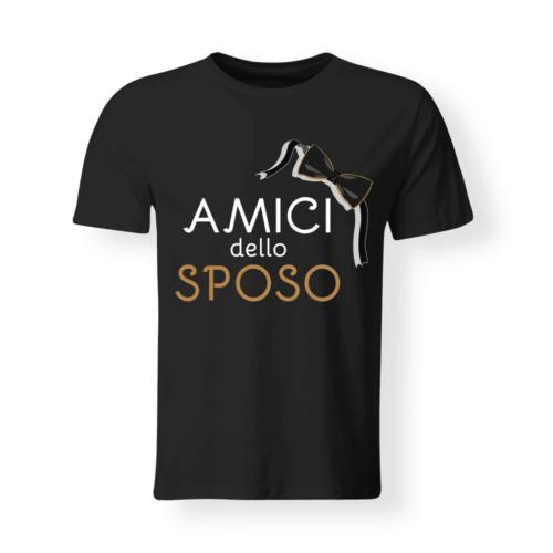 Favoloso T-Shirt Magliette Addio al Celibato - Idee e Frasi Divertenti  GB05