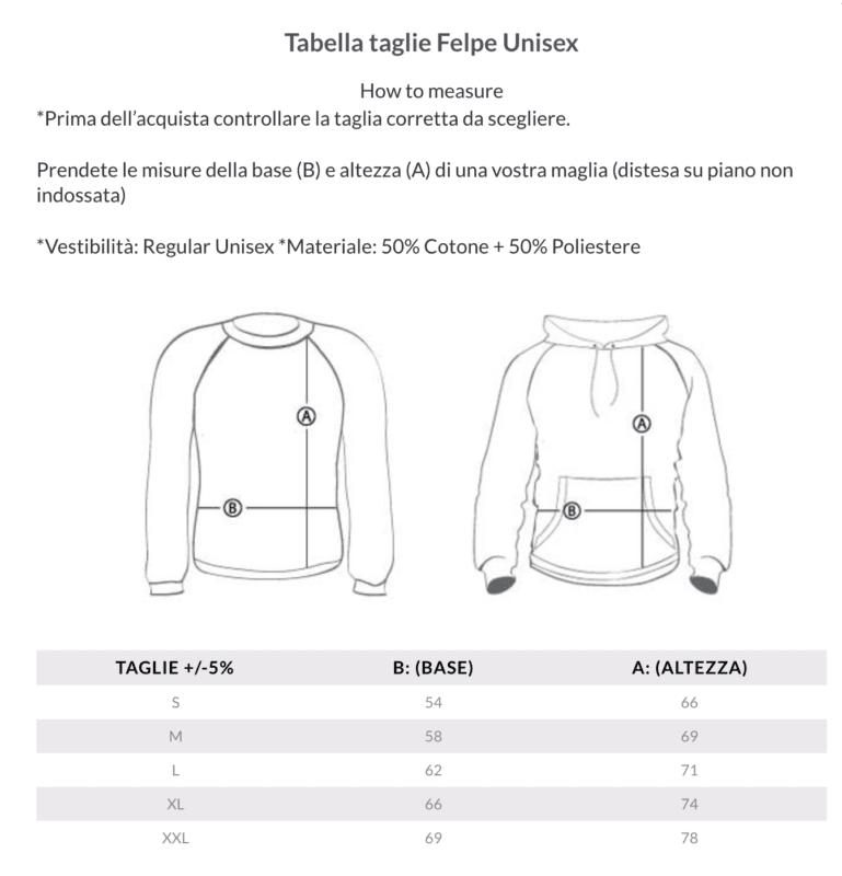on sale 36979 40d5a Tabella taglie | MyDigitalPrint