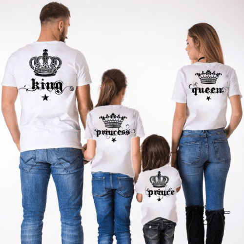 wholesale dealer 269f4 ec7e8 Magliette King e Queen: Idea Regalo per la coppia ...