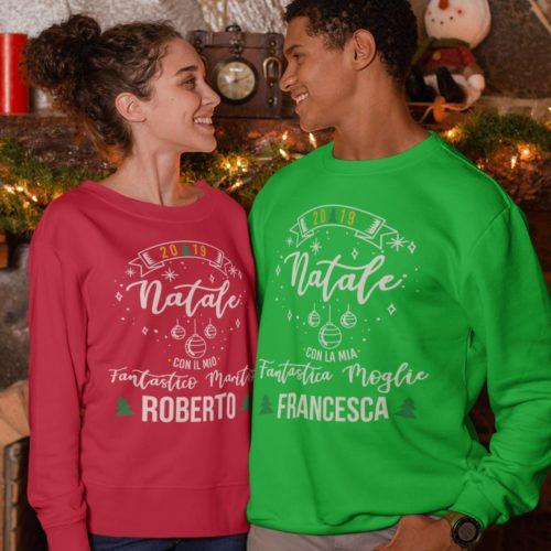 Personalizza nome Felpa Con Cappuccio Personalizzata Nome Proprio T-shirt Personalizzata Natale Regalo