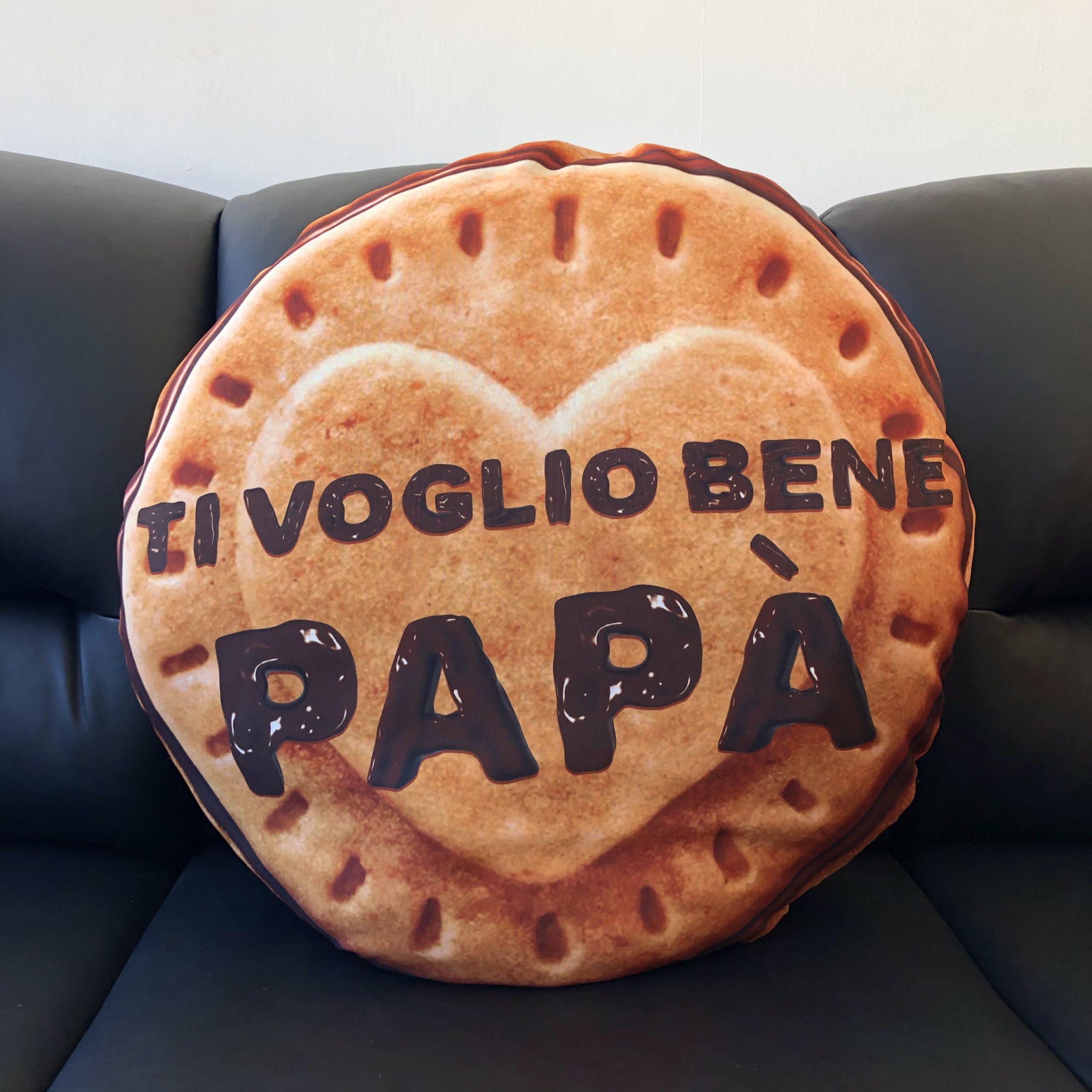 Cuscini A Biscotto.Cuscino Biscotto Festa Del Papa Mydigitalprint